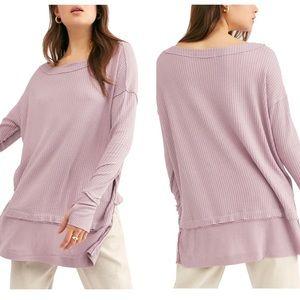 Free People | Purple Long Sleeve Thermal